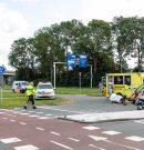 Motorrijder gewond bij ongeluk Hoendiep